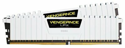 Corsair Vengeance LPX 16GB (2x8GB) DDR4 DRAM 2666MHz C16 Memory Kit - White