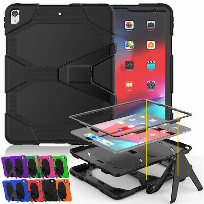 For Apple iPad Pro 12.9'' 2018 Full Shockproof Stand Case with Screen Protector