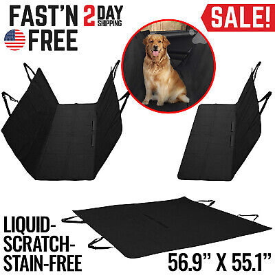 Pet Car Seat Cover for Dogs Cats Back Hammock Protector Mat Blanket Truck SUV
