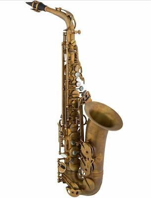 Eastman 52nd St. Eb Alto Saxophone Mint with Original Case, Neck and mouthpiece