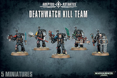 Warhammer 40K Deathwatch Kill Team Adeptus Astartes Space Marines Veterans