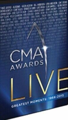 CMA Awards Live: Greatest Moments: 1968-2015 10-Disc Set DVD VIDEO MOVIE country