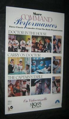 DOCTOR IN THE HOUSE Captain's Table CARRY ON DOCTOR