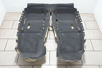 Audi A4 S4 RS4 Cabriolet 8H Interior Carpet Mat Pavement Black 8H1863021