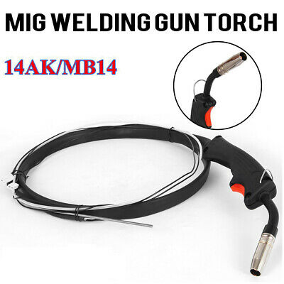 14AK Mig Welding Gun Parts Torch Stinger Replacement Electric Mig Welder 9.84 ft