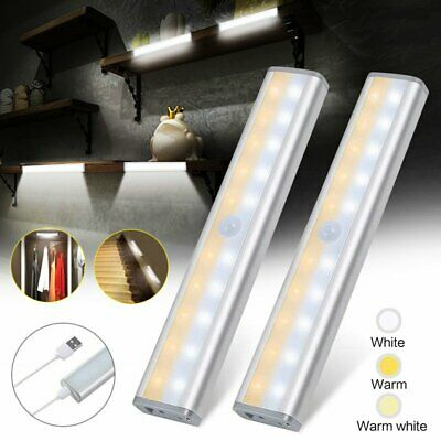 PIR Motion Sensor Light Cordless Battery Powered LED Night Light Closet Stair