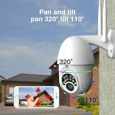 Wireless HD 1080P WIFI Camera Outdoor CCTV Home Security IR Night Vision 4XZoom
