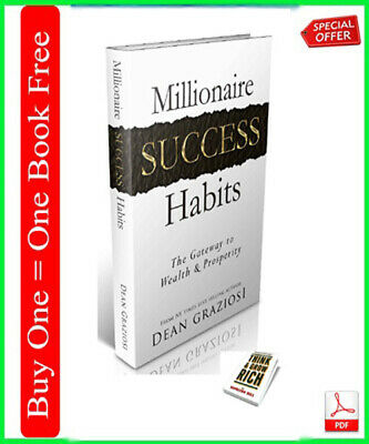"""""""Millionaire Success Habits"""" Way to your success  Free Shipping / Resell Rights"""