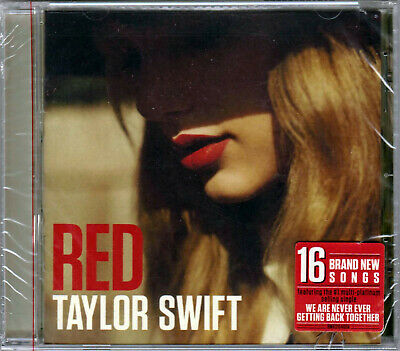 TAYLOR SWIFT RED The CD of WE ARE NEVER GETTTING BACK TOGETHER Ed Sheeran 22 & a