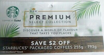 Save On Star Bucks Packaged Coffee Products