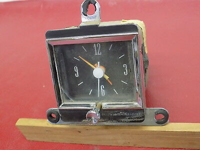 Jun1965 Ford Galaxie Dash Clock DOES NOT WORK 65 Used Part C5AF 15000