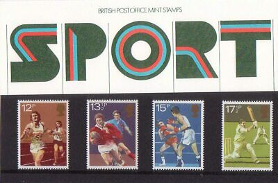 Great Britain 1980 PRESENTATION PACK SPORT MNH
