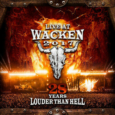 Live At Wacken 2017: 28 Years Louder Than Hell (CD New) Dummypid
