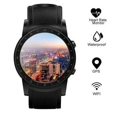 Smart WatchGPS Built-in HeartRate Monitor Pedometer 3GWIFI Bluetooth Running Sup
