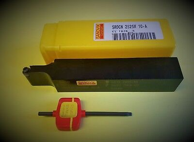 Sandvik Holder SRDCN 2525M 10-A sutable for RCKT,RCHT 10T Carbide Inserts