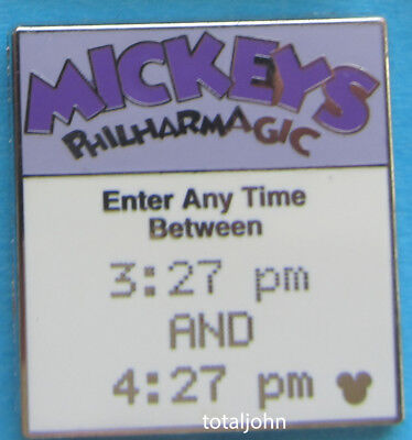Disney WDW - Hidden Mickey Pin 2008 Fast Pass Mickey's Philharmagic Pin