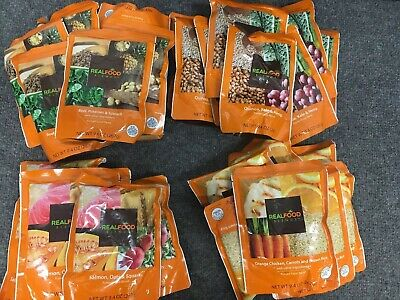 30 Real Food Blends Blended Meal Variety Beef Quinoa Salmon Orange RFB PRIORITY!