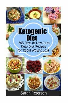 Ketogenic Diet:365 Days of Keto Diet Recipes for Rapid Weight Loss- DIGITAL BOOK