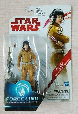 Star Wars The Last Jedi Force Link Resistance Tech Rose 3.75' Action Figure Toy
