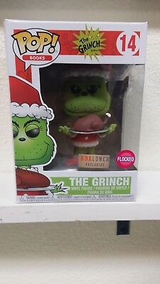 Funko Pop! Books The Grinch #14 Flocked Box Lunch Exclusive
