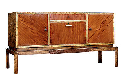 Late Art Deco Birch And Elm Sideboard
