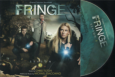 FRINGE SEASON 2 - Original TV Soundtrack - Michael Giacchino - NEAR MINT 2011 CD