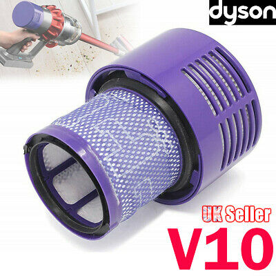 Original For DYSON Cyclone V10 Animal/Absolute+/Total Clean Washable Filter Unit
