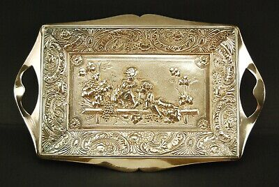 Antique Silverplate Decorative Tray by James W. Tufts Boston #3151