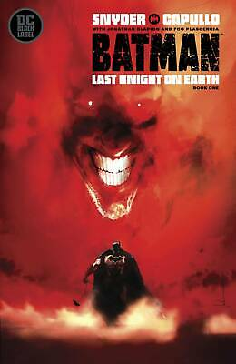 Batman Last Knight on Earth #1 Variant 2019 - Bagged & Boarded