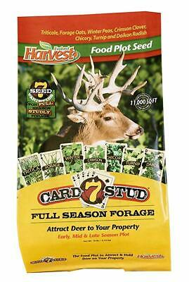 Evolved Attract Deer Forage Industries 73027 Food Plot Seed 7-Card Stud 10 LB