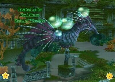 Reins of Poseidus wow Mount | All EU Server | World Of Warcraft seahorse mount