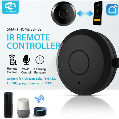 Smart IR WiFi Home Remote Control Tool Compatible For TV Air Conditioner Lamp