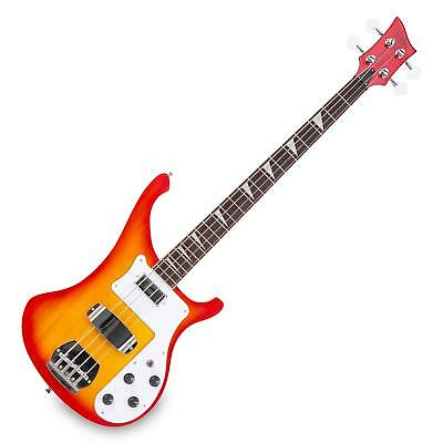 E-Bass RB Bassgitarre Longscale Humbucker Pickups Single Coil Pickups Sunburst