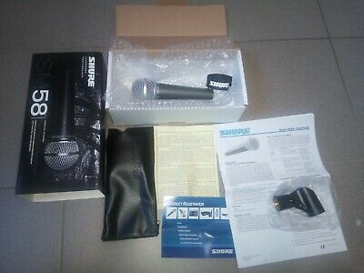 Microphone Shure sm58 neuf new
