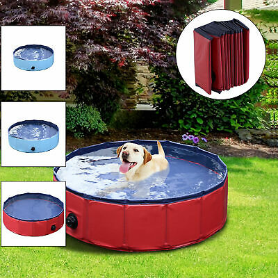 Portable Pet Bath Dog Swimming Pool Foldable Bath Paddling Pool Puppy Bathtub ^^