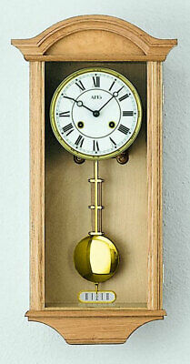 AMS 614/5 - Wall Clock - Oak - Pendulum Clock - Regulator Clock - New
