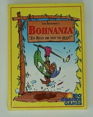 NEW SEALED Bohnanza: To Bean Or Not To Bean Card Game