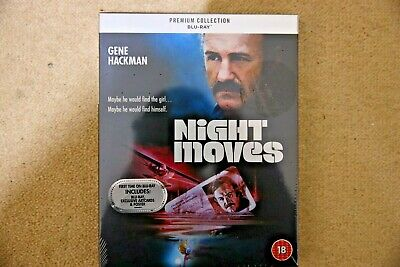 Blu-Ray Night Moves ( Gene Hackman ) Premium Exclusive Ed. New Sealed Uk Stock