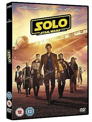 Solo: A Star Wars Story DVD Movie 2018 Brand New.