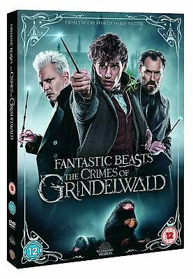 Fantastic beasts the crimes of grindelwald DVD Movie Region 2 Brand New