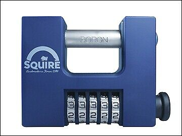 Henry Squire CBW85 Hi-Security Shutter Combination Padlock 83mm HSQCBW85