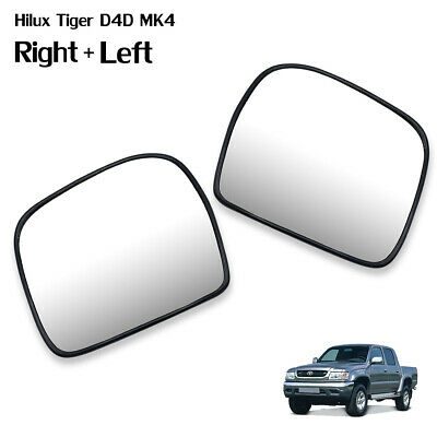 BLACK SIDE DOOR MIRROR MANUAL RIGHT SIDE FOR TOYOTA HILUX TIGER MK4 1998-2004