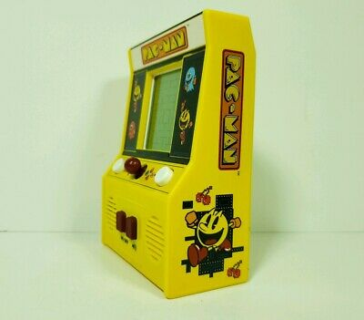 Pac-man Handheld Electronic Mini Arcade Game Basic Fun Battery Operated Tested!