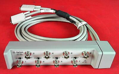 Agilent E1432-61602 8 Channel Voltage Breakout Box W/ Iepe Power Supply