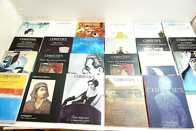 Lot Of 23 Christie's Auction Catalogs From 1997 From Around The World + Others