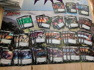 Complete Playset 3x Common Battle Cards 60 cards Wave 3 Transformers TCG WotC