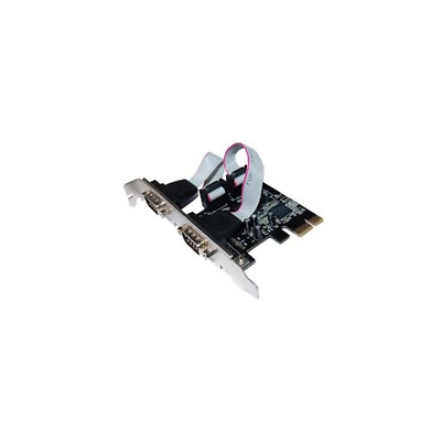 Longshine LCS-6321O Controller PCIe 2x Seriell RS232C retail LCS-6321O 2 Port