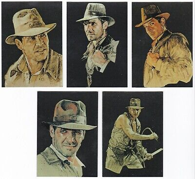 2008 Topps Indiana Jones Masterpieces Foil Art Card You Pick Finish Your Set