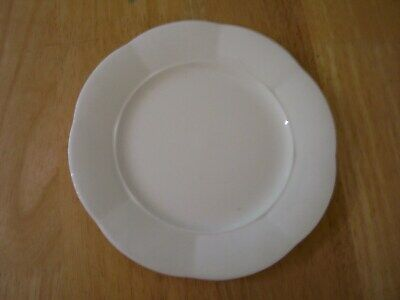 Villeroy Boch Damasco Weiss White 1 Salad Plate Scalloped Edge Germany
