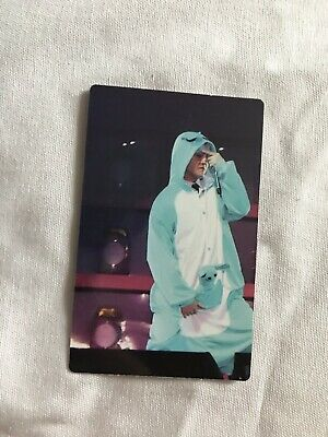 BTS 4th Muster DVD Happy Ever After OFFICIAL Photocard Namjoon / Yoongi RM /SUGA
